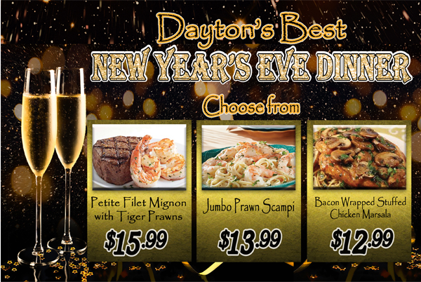 New year s eve dinner gold ranch casino dayton for What to make for new years eve dinner